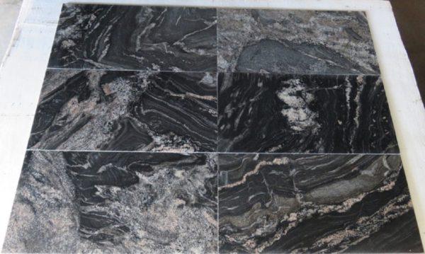 Płytki granitowe BLACK FOREST 610X305X10MM PSGranit
