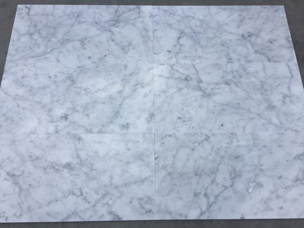 Płytki marmurowe Bianco Carrara 61x30,5x1