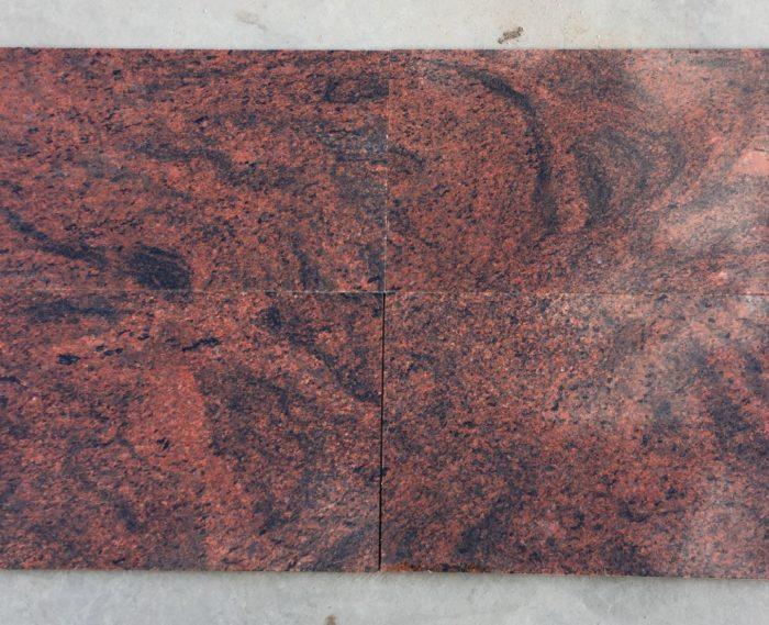 Płytki granitowe Multicolor Red Premium PSGranit
