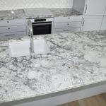 Blaty kuchenne z granitu River White od PS Granit Gdynia