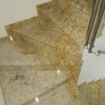 schody kamienne COLONIAL GOLD PSGranit