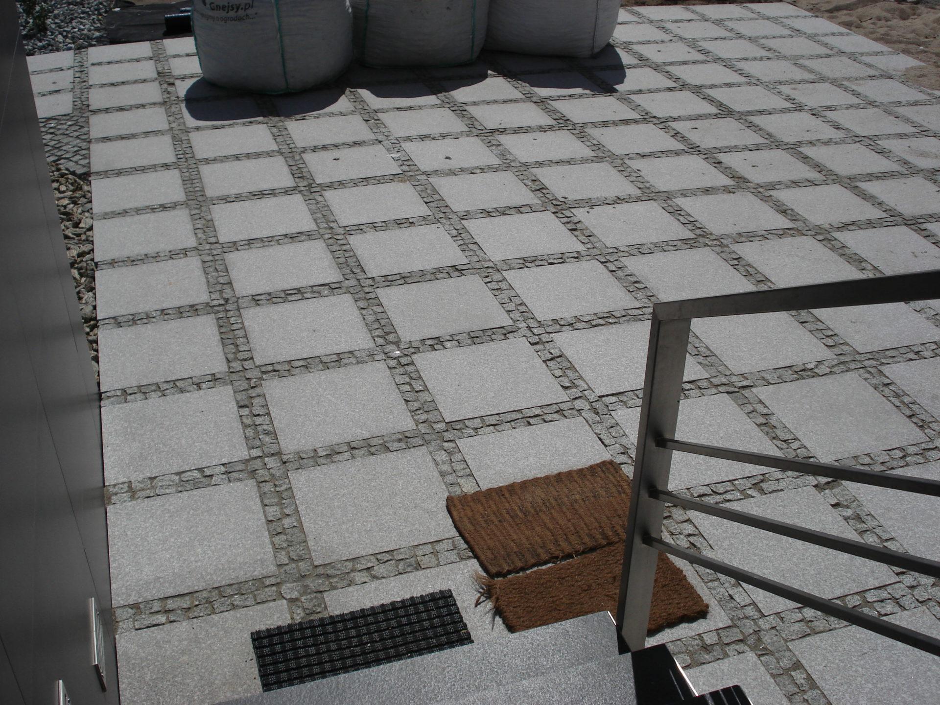 antypoślizgowe Płytki granitowe płomieniowane PS Granit Gdynia