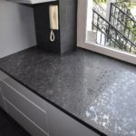 Blat granitowy Steel Grey Lappato