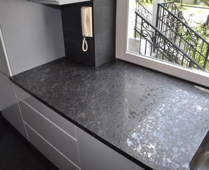 Blat granitowy Steel Grey Lappato