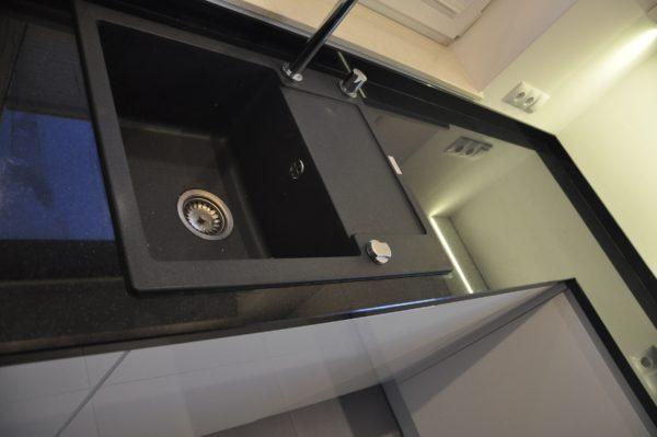 Czarny blat Jet Black 3cm poler PSGranit