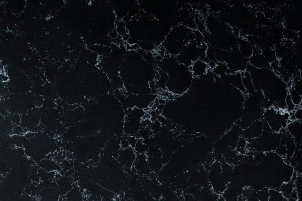 Black Marquina konglomerat kwarcowy