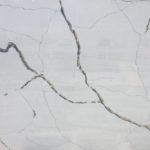 Calacatta Black closeup konglomerat kwarcowy na blaty kuchenne