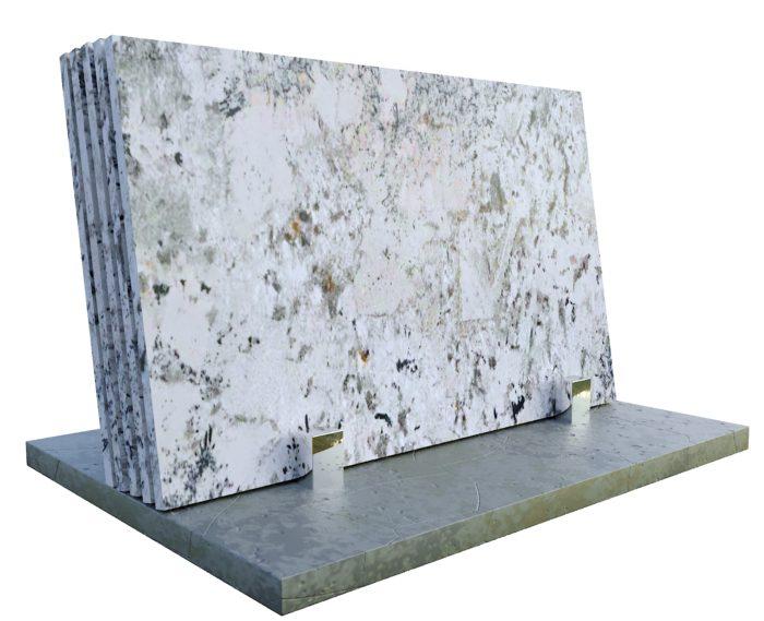 Glacier White 2cm granit Gdynia