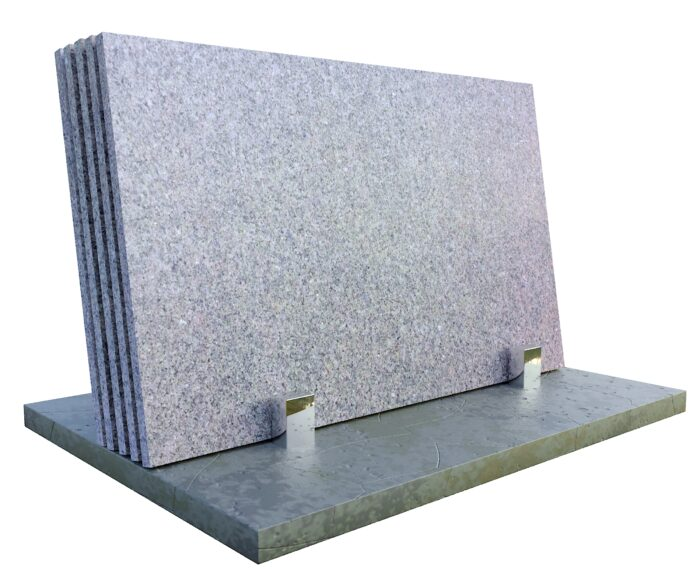 Green Ubatuba granit płomień