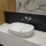 Blat do łazienki Pure White 2cm poler umywalka misa stojąca na blacie
